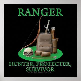 Ranger: Hunter, Protector, Survivor Print