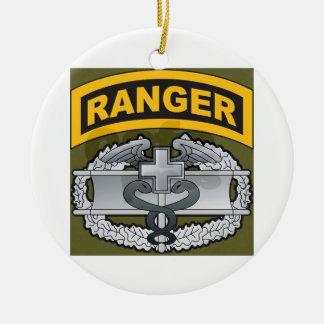 Ranger Medic Christmas Ornament