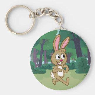 Ranger Rick | Becky Hare Basic Round Button Key Ring