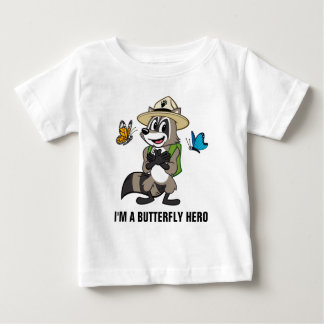 Ranger Rick | Butterfly Hero - Butterfly Sign Baby T-Shirt