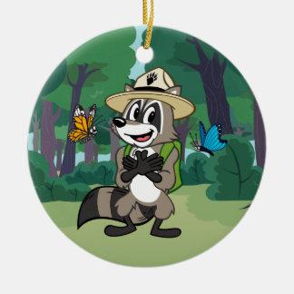 Ranger Rick | Butterfly Hero - Butterfly Sign Christmas Ornament