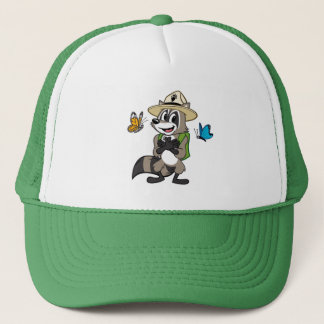 Ranger Rick   Butterfly Hero - Butterfly Sign Trucker Hat