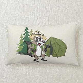 Ranger Rick   Great American Campout -Tent Lumbar Cushion