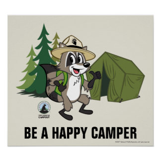 Ranger Rick | Great American Campout -Tent Poster