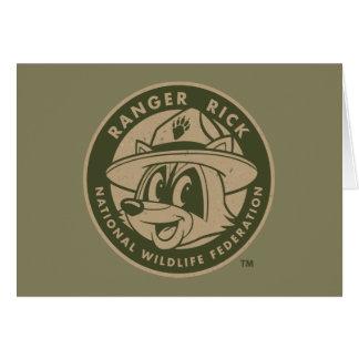 Ranger Rick | Ranger Rick Khaki Logo Card