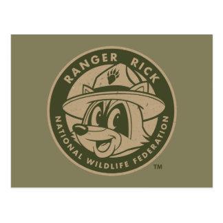 Ranger Rick | Ranger Rick Khaki Logo Postcard