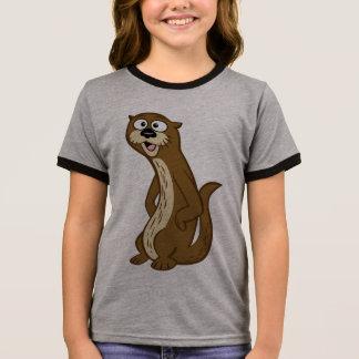 Ranger Rick | Reggie Otter Ringer T-Shirt