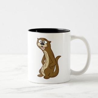 Ranger Rick | Reggie Otter Two-Tone Coffee Mug