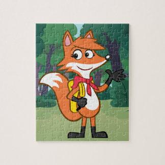 Ranger Rick   Scarlett Fox Waving Jigsaw Puzzle