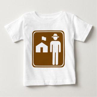 Ranger Station Highway Sign Baby T-Shirt