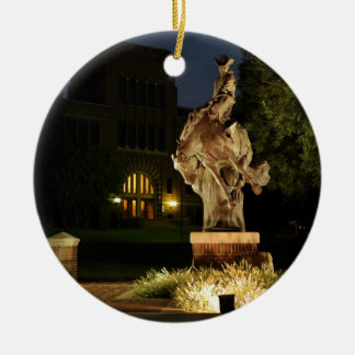 Ranger Statue at Night merchandise Christmas Ornament