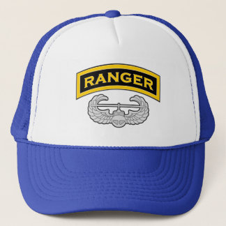 Ranger tab - Air Assault badge Trucker Hat