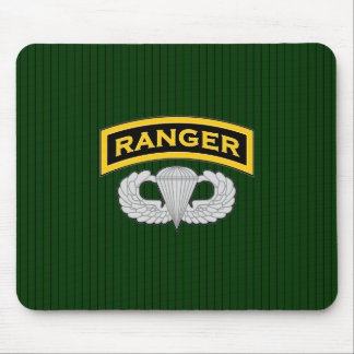Ranger tab and Jump Wings Mouse Mat