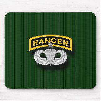 Ranger tab and Senior Parachutist badge Mouse Pad