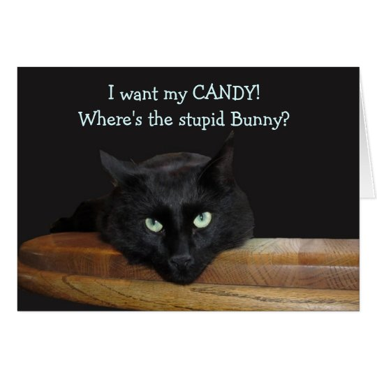 """Ranger """"Where's The Stupid Bunny"""" Easter Card"""