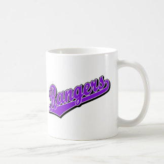 Rangers in Purple Mug