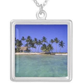 Ranguana Caye, Belize Silver Plated Necklace