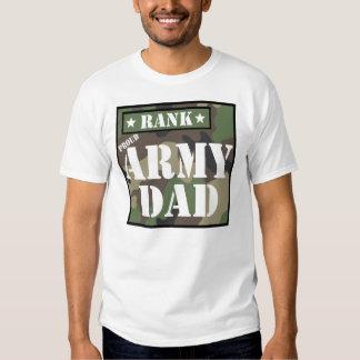 Rank - Army Dad Tshirt