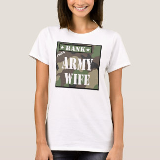 Rank - Army Wife T-Shirt