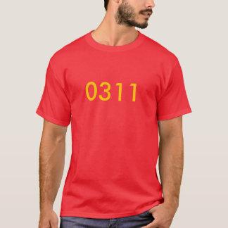 rank, War in Iraq, 0311 T-Shirt