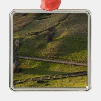 Rano Raraku, Rapa Nui, Easter Island, Chile Christmas Ornament