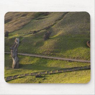 Rano Raraku, Rapa Nui, Easter Island, Chile Mouse Mat