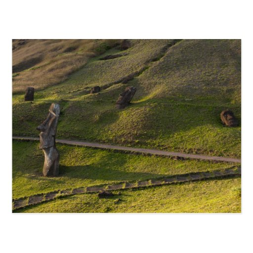 Rano Raraku, Rapa Nui, Easter Island, Chile Postcards