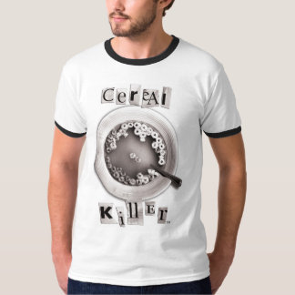 Ransom Note Cereal Killer T-Shirt