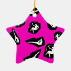 Ransom Note Circus Christmas Ornament