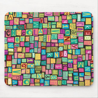 ransom note mouse pad