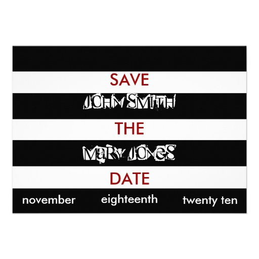 Ransom Save The Date Cards Custom Announcements