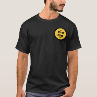 rant and dick: Gold and Black Logo BLACK T T-Shirt