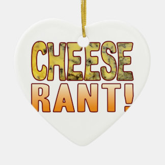 Rant Blue Cheese Christmas Ornament