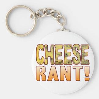 Rant Blue Cheese Key Ring