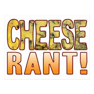 Rant Blue Cheese Postcard