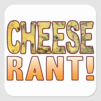 Rant Blue Cheese Square Sticker