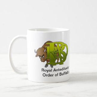 RAOB - Royal Antediluvian Order of Buffalo's Basic White Mug