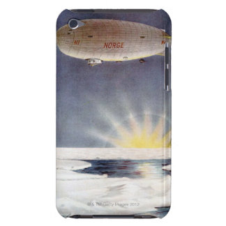 Raold Amundsen s airship Norge over North Pole Barely There iPod Cover