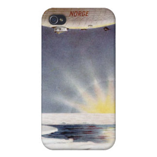 Raold Amundsen's airship Norge over North Pole iPhone 4 Case