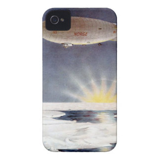 Raold Amundsen's airship Norge over North Pole iPhone 4 Case-Mate Case