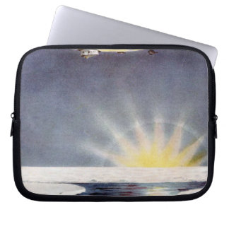 Raold Amundsen's airship Norge over North Pole Laptop Sleeve