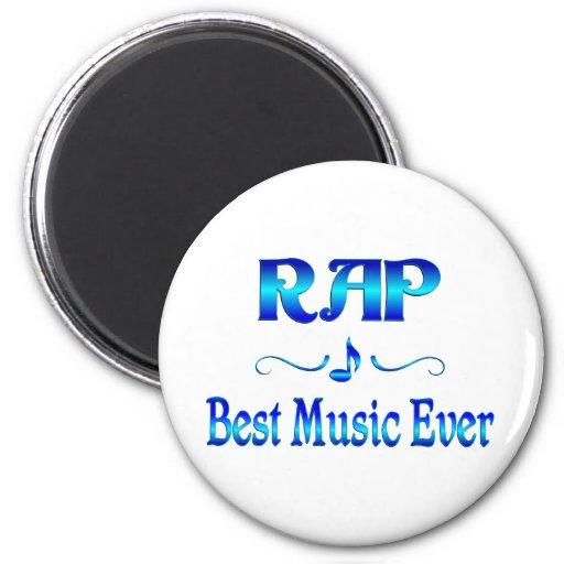 Rap Best Music Fridge Magnet
