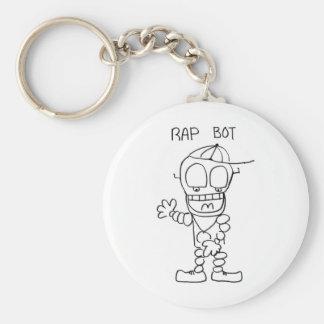 Rap Bot Key Chains
