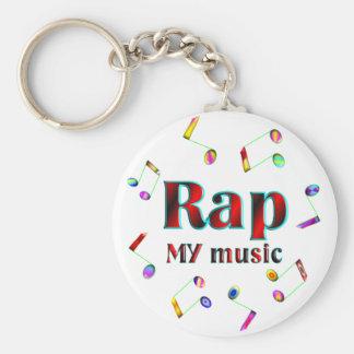 Rap Music Key Chains