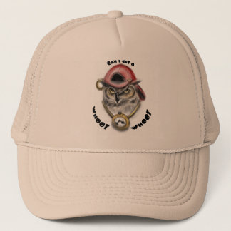 Rap Owl Trucker Hat