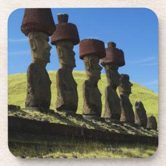 Rapa Nui artifacts, Easter Island Beverage Coasters