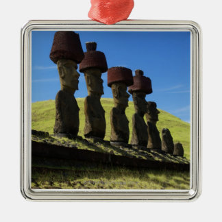 Rapa Nui artifacts, Easter Island Christmas Ornament