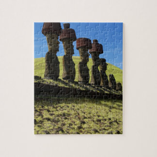 Rapa Nui artifacts, Easter Island Jigsaw Puzzle