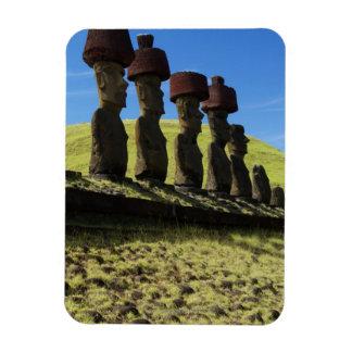 Rapa Nui artifacts, Easter Island Rectangular Photo Magnet