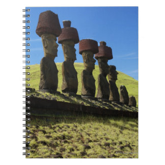 Rapa Nui artifacts, Easter Island Spiral Notebook